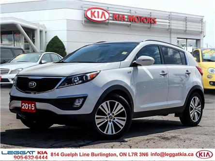 2015 Kia Sportage  (Stk: 2A5043A) in Burlington - Image 1 of 26