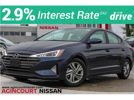 2019 Hyundai Elantra Preferred (Stk: U12732) in Scarborough - Image 1 of 25