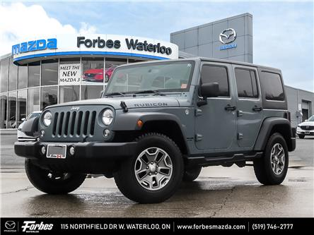 2014 Jeep Wrangler Unlimited Rubicon (Stk: M6713A) in Waterloo - Image 1 of 21