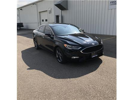 2017 Ford Fusion V6 Sport (Stk: HR173070T) in Wallaceburg - Image 1 of 14