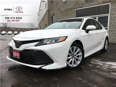 2019 Toyota Camry LE POWER HEATED SEAT, ALLOY WHEELS, BACK UP CAMERA (Stk: 8871) in Brampton - Image 1 of 22