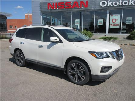 2020 Nissan Pathfinder Platinum (Stk: 9805) in Okotoks - Image 1 of 28