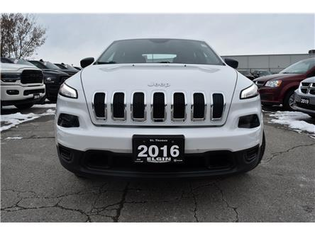 2016 Jeep Cherokee Sport (Stk: 78261) in St. Thomas - Image 2 of 30