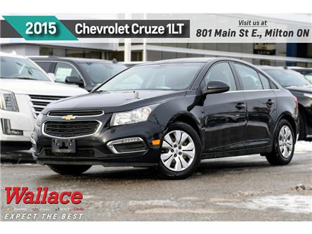 2015 Chevrolet Cruze 1LT | ONE OWNER | NO ACCIDENT | RMT STRT (Stk: 283641A) in Milton - Image 1 of 23