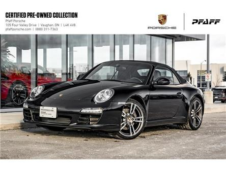 2012 Porsche 911 Carrera Cabriolet Black Edition (Stk: U8452) in Vaughan - Image 1 of 22