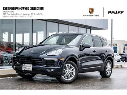 2017 Porsche Cayenne w/ Tip (Stk: U8482) in Vaughan - Image 1 of 21