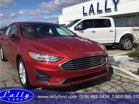 2020 Ford Fusion SE (Stk: FU25876) in Tilbury - Image 1 of 15