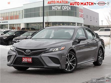 2018 Toyota Camry SE (Stk: U2241) in Barrie - Image 1 of 26