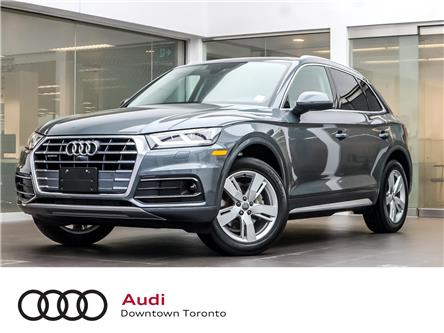 2019 Audi Q5 45 Technik (Stk: P3633) in Toronto - Image 1 of 30