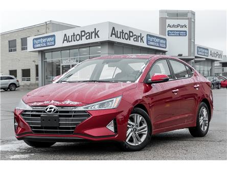 2020 Hyundai Elantra Preferred w/Sun & Safety Package (Stk: APR6082) in Mississauga - Image 1 of 20