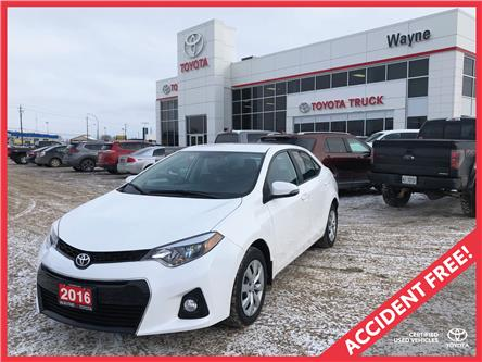 2016 Toyota Corolla S (Stk: 11051) in Thunder Bay - Image 1 of 30