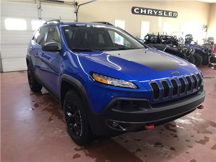 2018 Jeep Cherokee Trailhawk (Stk: U19-135A) in Nipawin - Image 1 of 25