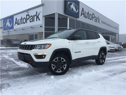 2018 Jeep Compass Trailhawk (Stk: 18-17232RJB) in Barrie - Image 1 of 26