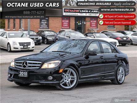 2010 Mercedes-Benz C-Class Base (Stk: ) in Scarborough - Image 1 of 28
