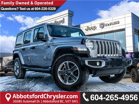 2019 Jeep Wrangler Unlimited Sahara (Stk: AB0995) in Abbotsford - Image 1 of 26