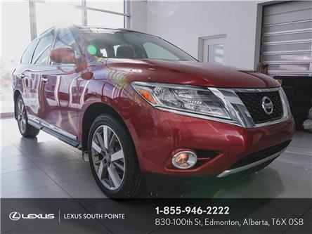 2014 Nissan Pathfinder Platinum (Stk: LLD0259A) in Edmonton - Image 1 of 30