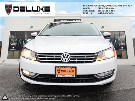 2013 Volkswagen Passat 2.0 TDI Comfortline (Stk: D0686) in Concord - Image 2 of 21