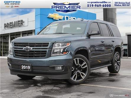2019 Chevrolet Tahoe Premier (Stk: P19329) in Windsor - Image 1 of 30