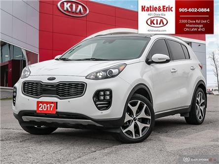 2017 Kia Sportage SX Turbo (Stk: ST20031A) in Mississauga - Image 1 of 28