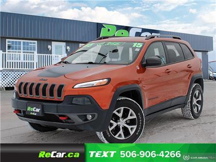 2015 Jeep Cherokee Trailhawk (Stk: 200116A) in Saint John - Image 1 of 22