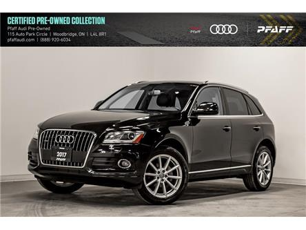 2017 Audi Q5 2.0T Technik (Stk: C7423) in Woodbridge - Image 1 of 22