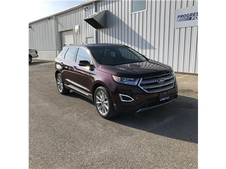 2017 Ford Edge Titanium (Stk: HBB65783L) in Wallaceburg - Image 1 of 15