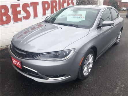 2015 Chrysler 200 C (Stk: 20-021) in Oshawa - Image 1 of 12