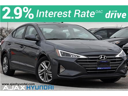 2020 Hyundai Elantra Preferred w/Sun & Safety Package (Stk: P4922R) in Ajax - Image 1 of 32