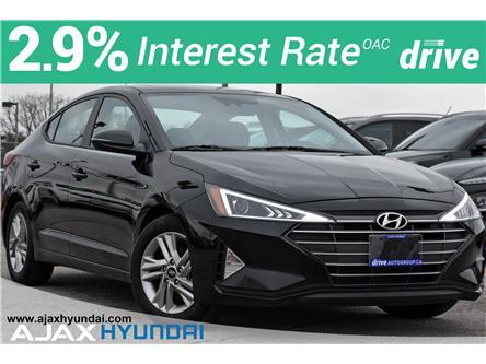 2020 Hyundai Elantra Preferred w/Sun & Safety Package (Stk: P4926R) in Ajax - Image 1 of 31