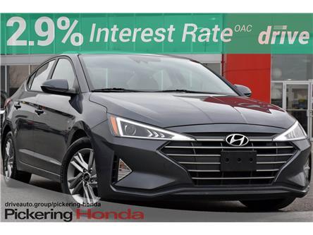 2020 Hyundai Elantra Preferred w/Sun & Safety Package (Stk: PR1161) in Pickering - Image 1 of 34