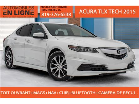 2015 Acura TLX Tech (Stk: 800681) in Trois Rivieres - Image 1 of 37