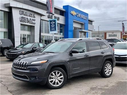 2016 Jeep Cherokee Limited (Stk: 127854B) in BRAMPTON - Image 1 of 10