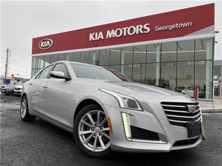 2017 Cadillac CTS 2.0L Turbo | LEATHER|BU CAM|CLEAN CARFAX|HTD SEATS (Stk: P12965) in Georgetown - Image 2 of 32