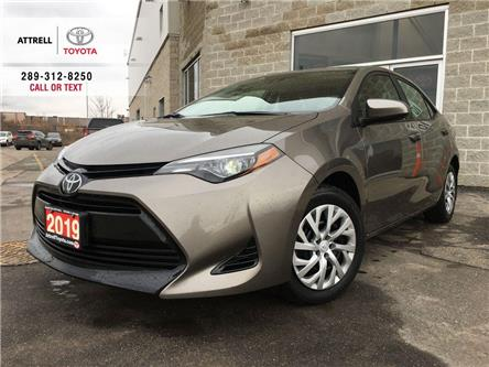 2019 Toyota Corolla LE KEYLESS, BLUETOOTH, HEATED SEATS, TOYOTA SAFETY (Stk: 8869) in Brampton - Image 1 of 23