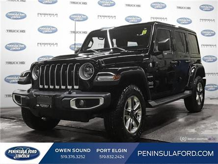 2019 Jeep Wrangler Unlimited Sahara (Stk: 1789A) in Owen Sound - Image 1 of 28