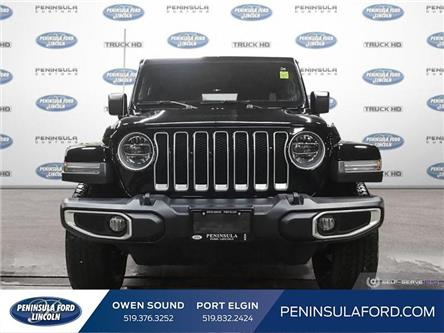 2019 Jeep Wrangler Unlimited Sahara (Stk: 1789A) in Owen Sound - Image 2 of 28
