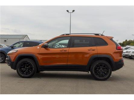2015 Jeep Cherokee Trailhawk (Stk: V982) in Prince Albert - Image 2 of 11