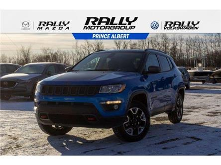 2018 Jeep Compass Trailhawk (Stk: V922A) in Prince Albert - Image 1 of 11