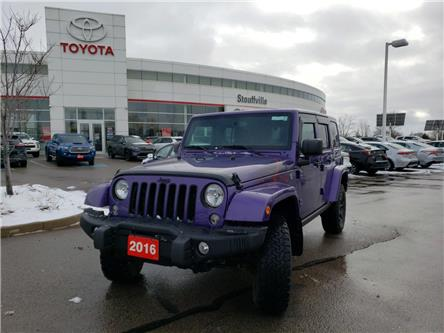 2016 Jeep Wrangler Unlimited Sahara (Stk: 191057A) in Whitchurch-Stouffville - Image 1 of 15