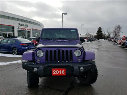 2016 Jeep Wrangler Unlimited Sahara (Stk: 191057A) in Whitchurch-Stouffville - Image 2 of 15