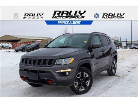 2018 Jeep Compass Trailhawk (Stk: V1112) in Prince Albert - Image 1 of 11