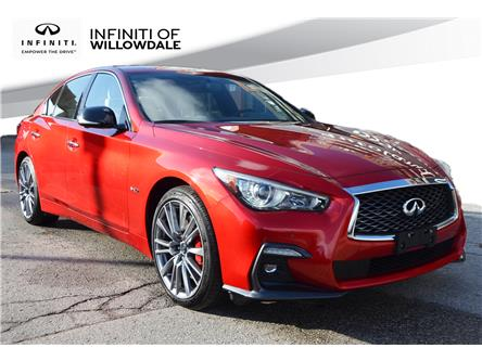 2019 Infiniti Q50 3.0t Red Sport 400 (Stk: U16615) in Thornhill - Image 1 of 27