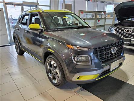 2020 Hyundai Venue Trend w/Urban PKG - Grey-Lime Interior (IVT) (Stk: 104014) in Markham - Image 1 of 24