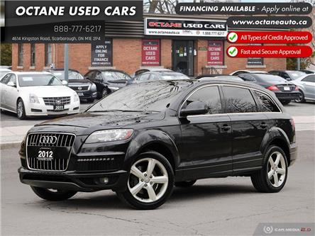 2012 Audi Q7 3.0 Premium Plus (Stk: ) in Scarborough - Image 1 of 28