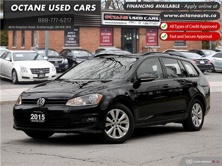 2015 Volkswagen Golf Sportwagon 1.8 TSI Highline (Stk: ) in Scarborough - Image 1 of 29