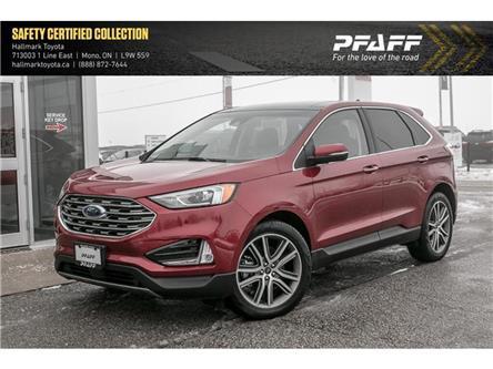 2019 Ford Edge Titanium - AWD (Stk: H20218A) in Orangeville - Image 1 of 22