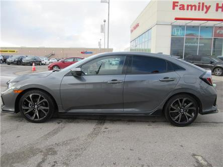 2017 Honda Civic Hatchback 5dr CVT Sport | HONDA CERTIFIED | PUSH START | (Stk: 307072T) in Brampton - Image 2 of 24
