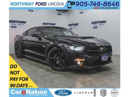 2015 Ford Mustang GT Premium | 5.0L V8 | 6-SPEED | SUPERCHARGED | (Stk: OLV7640A) in Brantford - Image 1 of 42