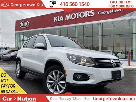 2017 Volkswagen Tiguan 4MOTION Wolfsburg Edition | LEATHER | BACK UP CAM (Stk: NIS2) in Georgetown - Image 1 of 33