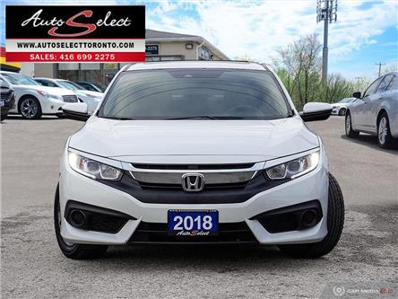 2018 Honda Civic  (Stk: E1CVW21) in Scarborough - Image 2 of 30